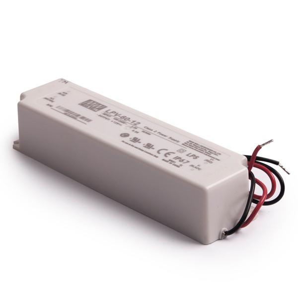 MW LPV-60-12 12V 60W IP67 Power supply - 1271 | Klusdesign eu